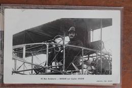 NARDIN  SUR  BIPLAN  VOISIN - Airmen, Fliers