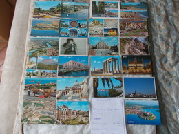 Lot De 40 Cartes Postales De Europe Italie Russie Danemark Suede Et Autres - Cartes Postales