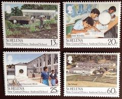 St Helena 1989 Prince Andrew Central School MNH - Saint Helena Island