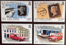 St Helena 1990 London Stamp Exhibition MNH - Saint Helena Island