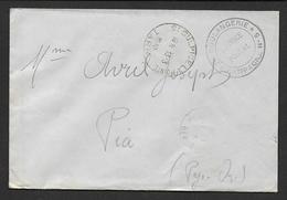 Tarn - Boulangerie De Campagne N° 5 Sur Enveloppe De St Sulpice La Pointe 1940 - Marcophilie (Lettres)