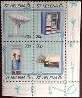 St Helena 1990 Modern Communications MNH - Saint Helena Island
