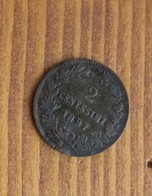 * 2 CENTESIMI DEL 1897 DEL REGNO D'ITALIA UMBERTO I° - - 1861-1946 : Regno