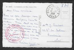 Algérie - Cachet OUED SLISSEN  Et 2e Bataillon De Tirailleurs Algériens Mostaganem - Storia Postale