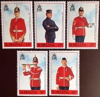 St Helena 1991 Military Uniforms MNH - Saint Helena Island