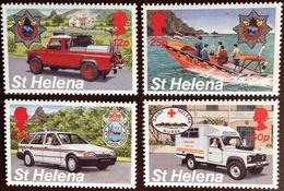 St Helena 1995 Emergency Services MNH - Saint Helena Island