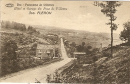 BRA - Panorama De Villettes  - Hôtel Et Garage Du Pont De Villettes  -- Jos. FLERON - Lierneux
