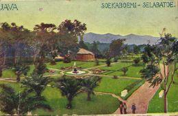 Indonesia, JAVA SOEKABOEMI, Selabatoe (1910s) Artist Hans Kalmsteiner - Indonesia