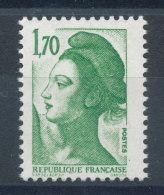 2318** Liberté 1,70f Vert - France