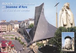 76  ROUEN / SITE DE L ' EXECUTION DE JEANNE D'ARC / STATUE - Rouen