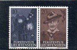 LIECHTENSTEIN 1957 ** - Liechtenstein