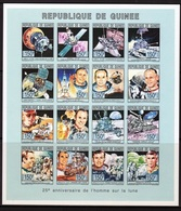 Guinea 1993, Space, 25th Apollo 11, Golf, 16 Val In BF IMPERFORATED - Space
