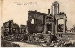 NOMENY - LA GUERRE EN LORRAINE 1914-1918 - ECOLE DES GARÇONS - Nomeny