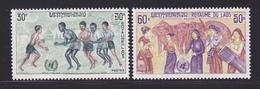 LAOS N°  226 & 227 ** MNH Neufs Sans Charnière, TB (D6902) Contre Le Racisme Et La Discrimination - Laos