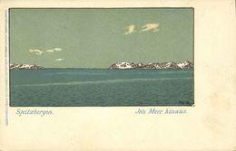 Norway, SPITSBERGEN SVALBARD, Into The Sea (1899) Messmer's Tea Advertising - Norway