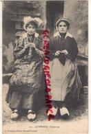 63- AUVERGNE- PAYSANNES - EDITEUR C. DELAUNAY  CLERMONT FERRAND N° 213-TRICOTAGE-TRICOTER-TRICOT BRODERIE - France