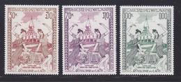 LAOS AERIENS N°   80 à 82 ** MNH Neufs Sans Charnière, TB (D6903) Jumelage King-Koh Et Saint-Astié - Laos