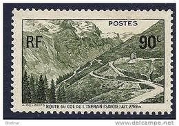 """FR YT 358 """" Col De L'Iseran """" 1937 Neuf** - Frankreich"""