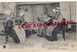 63- AUVERGNE-PUY DE DOME- TRICOTAGE- TRICOT-FILEUSE-BRODERIE-ANTONIN MEYNIEL ET REGIS- EDITEUR MTIL LIMOGES N° 2882 - France