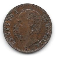 Centesimo 1897 R Del Re Umberto I - 1861-1946 : Regno