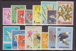 Singapore 1962-66 Set Unmounted Mint. - Singapore (1959-...)