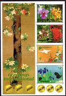 Singapore 2006 Relations With Japan Gold-blocked Souvenir Sheet Unmounted Mint. - Singapore (1959-...)