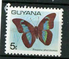 Guyana 1978 5c  Burtterfly Issue  #279 - Guyana (1966-...)