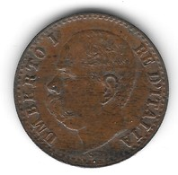Centesimo 1900 R Del Re Umberto I - 1861-1946 : Regno
