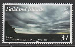 Falkland Islands 2015 Clouds 31 P Multicolored SW 1316 O Used - Falkland Islands