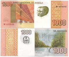 Angola - 1000 Kwanzas 2012 2017 UNC Lemberg-Zp - Angola