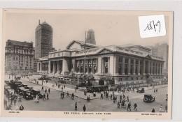 CPA  -18709 New York - Public Library ( Défaut Verso= 2 Scans) - Enseignement, Écoles Et Universités