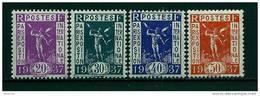 """FR YT 322 à 325 """" Exposition Internationale De Paris """" 1936 Neuf** - Frankreich"""