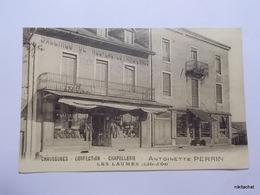 LES LAUMES-Chaussures-Confection-Chapelerie-Maison Perrin - France
