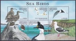Grenada Grenadinen Grenadines 1998 Tiere Fauna Animals Vögel Birds Oiseaux Pajaro Uccelli, Mi. 2730-5 ** - Grenada (1974-...)