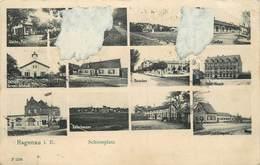 HAGENAU - Schiessplatz,carte Multi-vues,vendue En L'état. - Haguenau