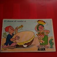 CARTE A SYSTEME ALGER LI DANSE DI VENTRE A ALGER - Algerien