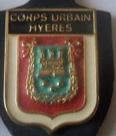 INSIGNE DE POLICE DE  HYERES - Police