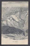 Schweiz Suisse 1906: Simplon & Simplon-Tunnel (19830m) - Brig (BRIEG) Mit O SALGESCH 23.VI.06 Nach EISCHOLL (WALLIS) - VS Valais