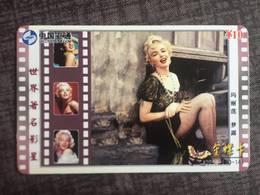 "RARE China TC/PC/TK - MARILYN MONROE ""Sexy Photo"" - Tolles Sammlerstück - Ca. 8,5 X 5,4 Cm - 1702391 - Cinéma"