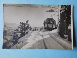 Tramway En Montagne 1922 Carte Photo - Como