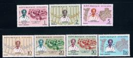 Haiti 559-61,C273-76 MNH Set Albert Schweitzer  CV 3.45 (H0049) - Haiti