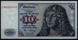 Bundesrepublik Geldschein Banknote 286 A CM X 10 Deutsche Mark 2.1.1980 - I. - [ 7] 1949-… : FRG - Fed. Rep. Of Germany