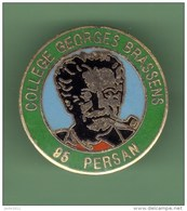 G.BRASSENS *** COLLEGE PERSAN *** 0031 - Celebrities
