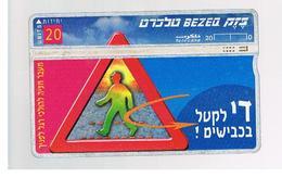 ISRAELE (ISRAEL) -   1998 TRAFFIC LAWS   - USED  -  RIF. 10878 - Israele