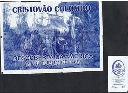 EMBALLAGES DE SUCRE-PORTUGAL-CHRISTOPHE COLOMB-12 OCTOBRE 1492-(Voir Note) - Sugars