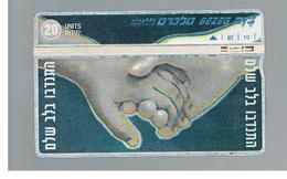ISRAELE (ISRAEL) -   1997 VOLENTER  - USED  -  RIF. 10879 - Israele