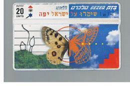 ISRAELE (ISRAEL) -   1997 BUTTERFLY  - USED  -  RIF. 10880 - Israel