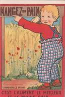 Buvard, Format Carte Postale-Publicité Signée Par Ric Cramer +scan - Kids