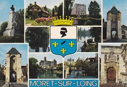 77 MORET SUR LOING / MULTIVUES / BLASON - Moret Sur Loing
