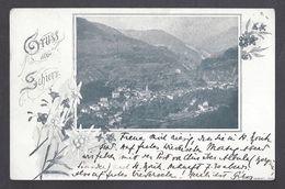 Schweiz Suisse 1901: Gruss Aus Schiers Mit O SCHIERS 19.VII.01 Nach St.Moritz-Dorf - GR Grisons